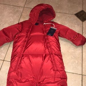 Gap baby snow suit!! NWT